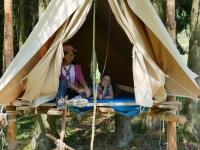 La tente surélevée