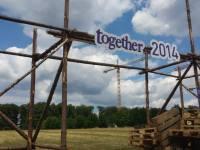 Accueil du Jamboree Together 2014